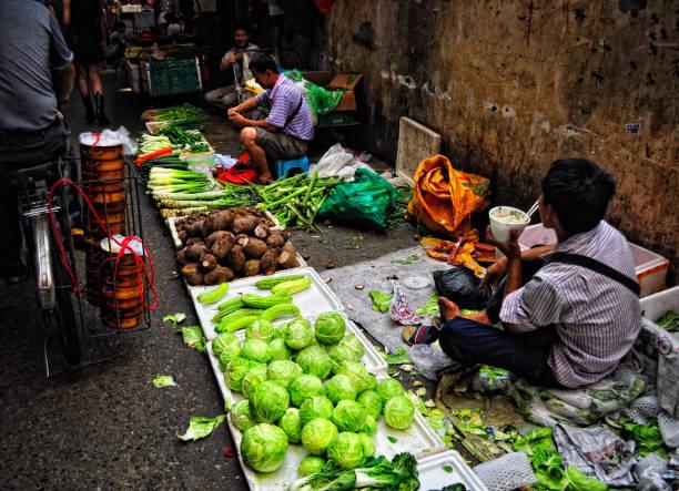 ShenZhen Straßenverkäufer – Foto