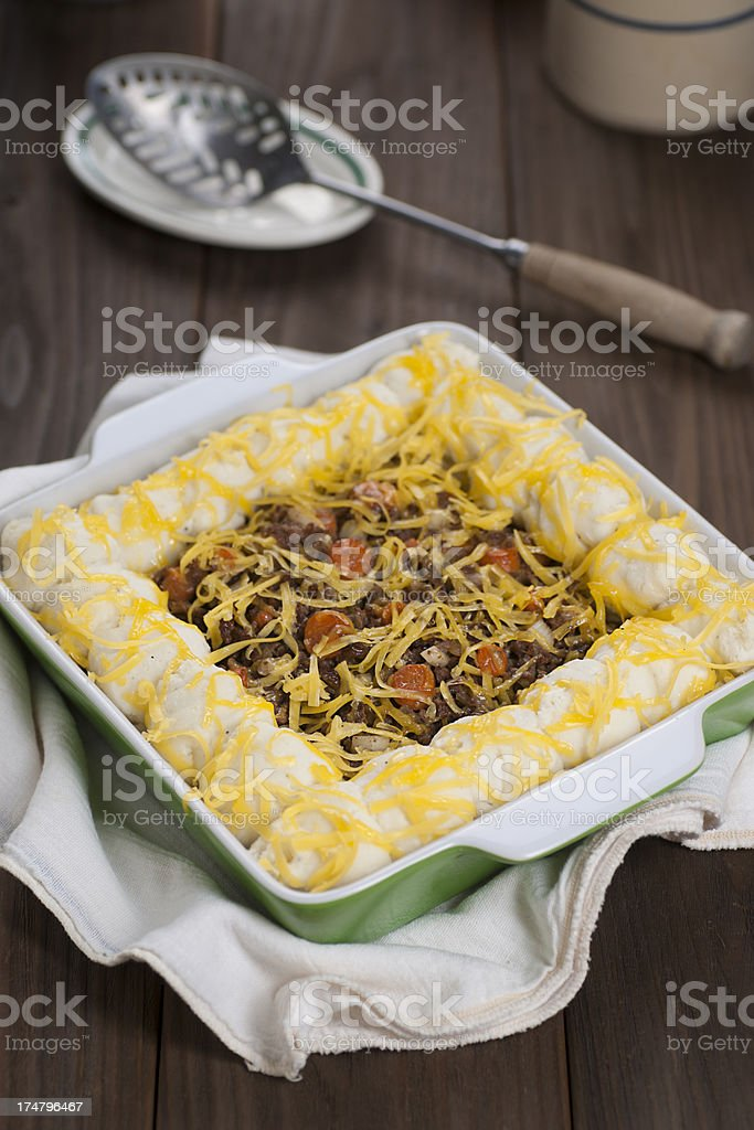 Shepard's Pie royalty-free stock photo