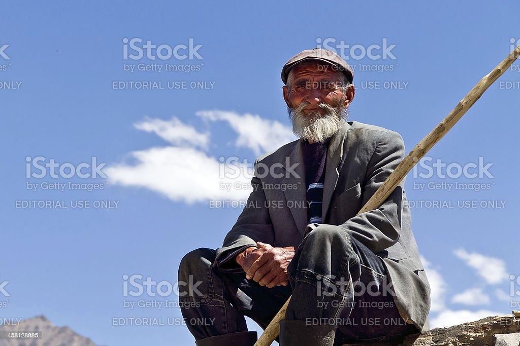 Shepherd. stock photo