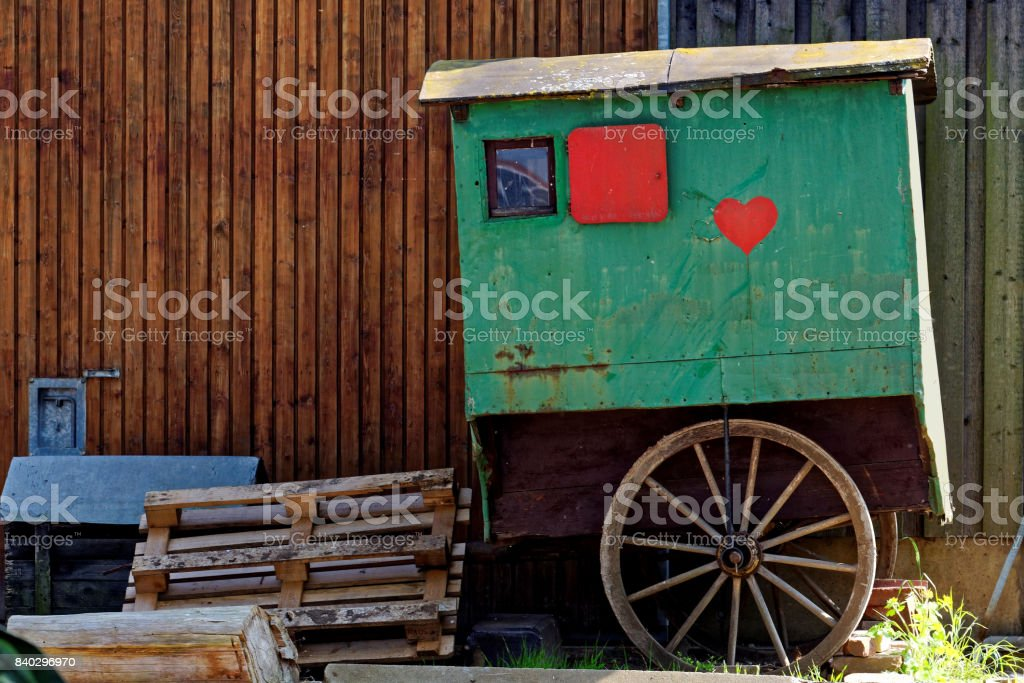 shepherd vehicle trailer stock photo