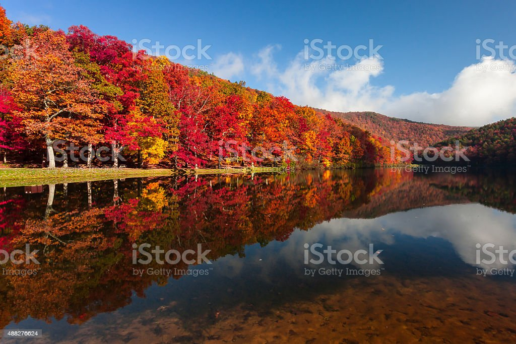 Sherando Lake stock photo