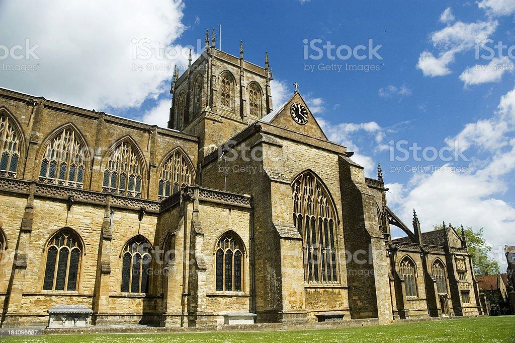 Sherborne Abbey, Dorset Abbey Abbey - Monastery Stock Photo