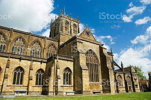 Sherborne Abbey Dorset Stock Photo - Download Image Now