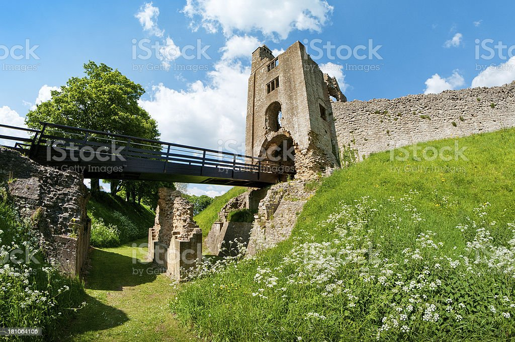 Sherborne Old Castle, Castleton, Dorset, United Kingdom royalty-free stock photo