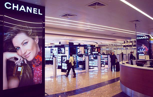 Sheremetyevo International Airport Duty Free stock photo