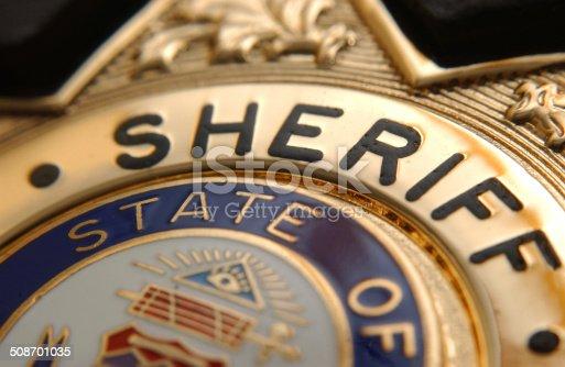 A Deputy Sheriff Badge