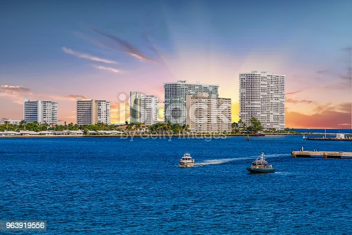 istock Sheriff Boats in Harbor 963919556