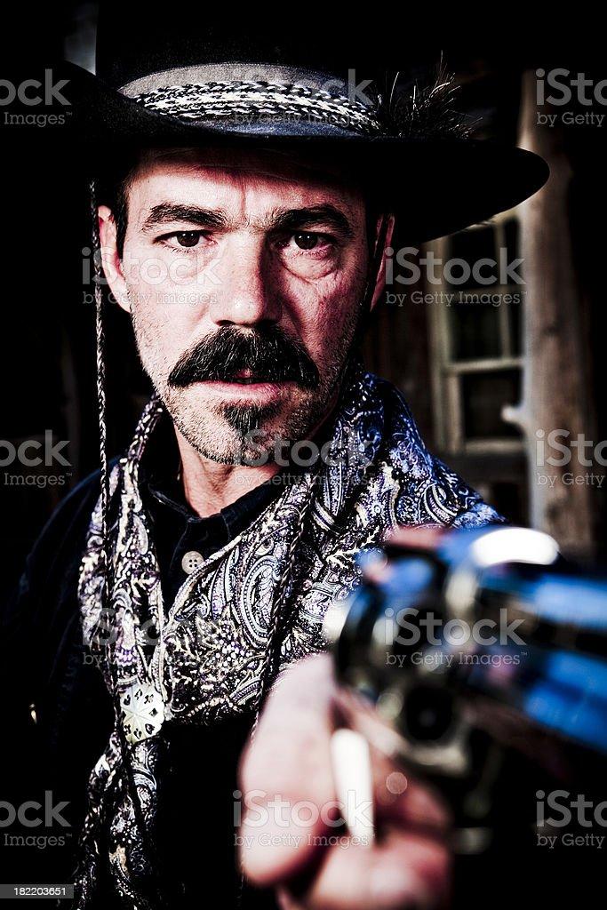 Sheriff cowboy royalty-free stock photo