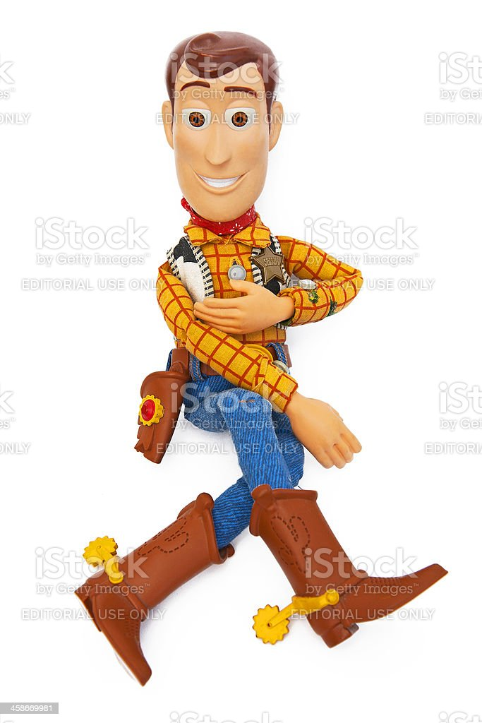 Sheriff Woody - Toy Story stock photo