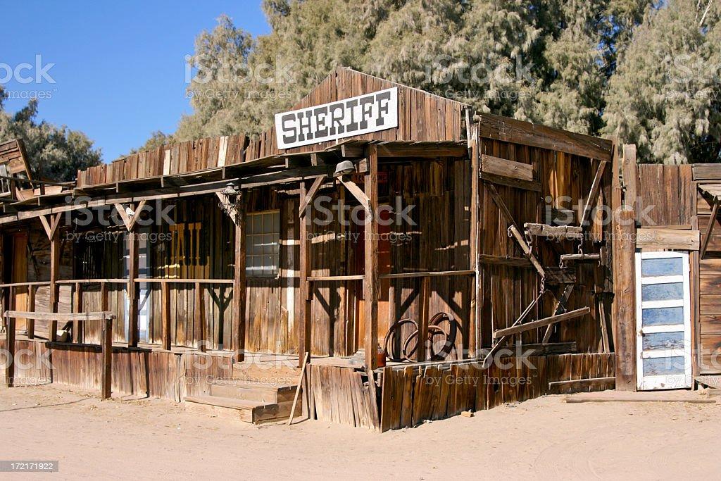 Sheriff's Station stock photo