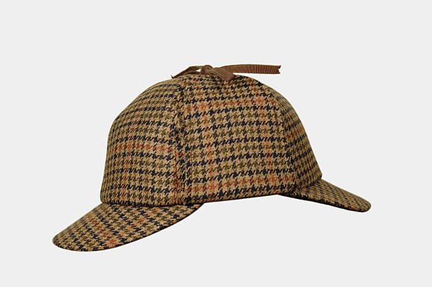 Sherlock Holmes Hat Classic Sherlock Holmes Hat.Look my Hats & Caps lightbox: sherlock holmes stock pictures, royalty-free photos & images