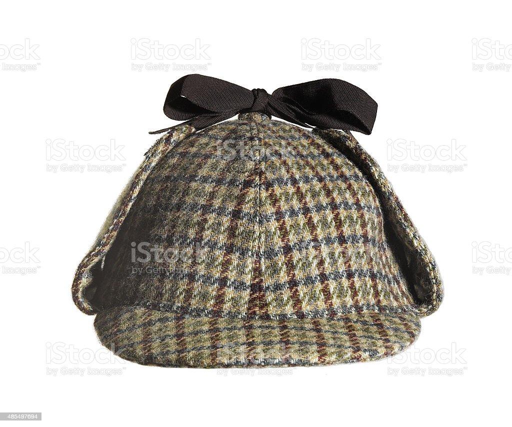 Sherlock Holmes Hat stock photo