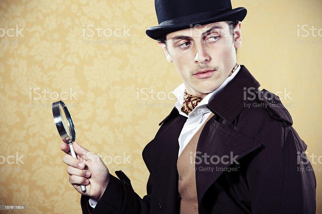 Sherlock Holmes stock photo
