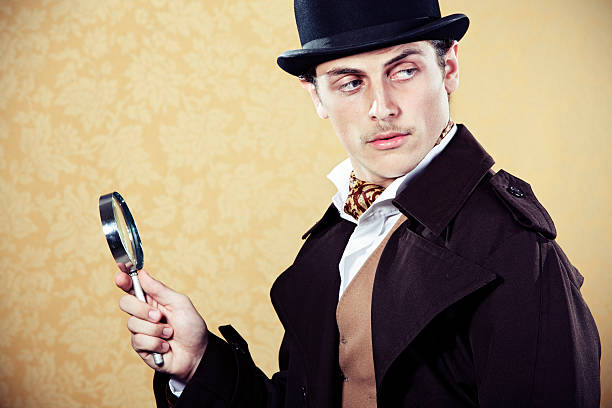 Sherlock Holmes  sherlock holmes stock pictures, royalty-free photos & images