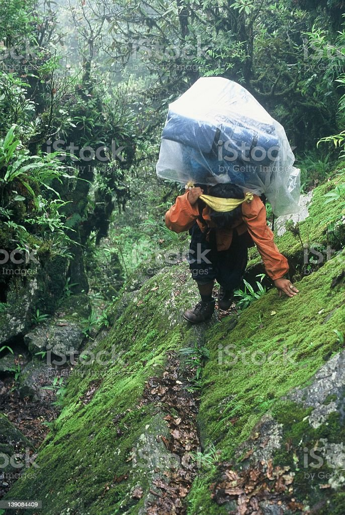 Sherpa - Nepal stock photo