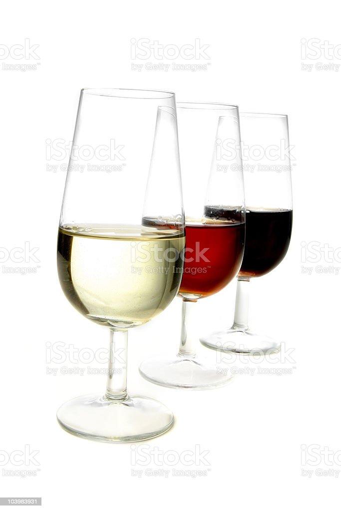 sherry wine stock photo