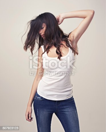 istock She's a free spirit! 507923123
