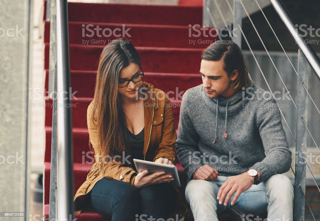 She's a great help when it comes to studying royalty-free stock photo