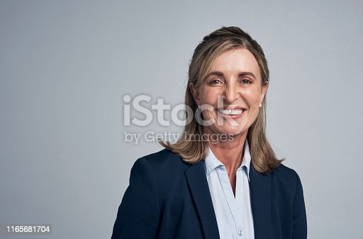 981750034istockphoto She's a great leader in the industry 1165681704