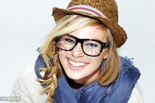 istock She's a happy hipster 471652045