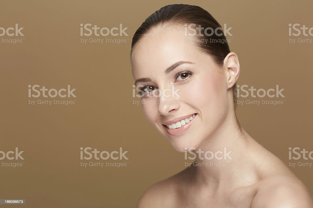 She's a stunner royalty-free stock photo