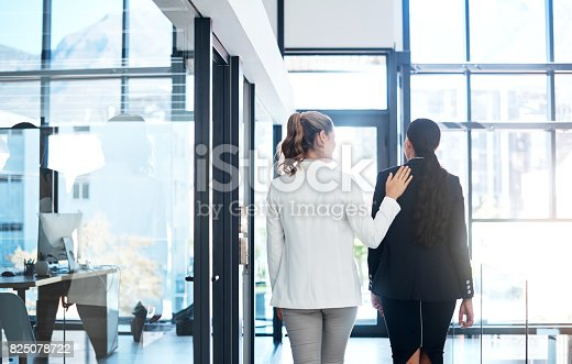 istock She's a warm and welcoming coworker 825078722