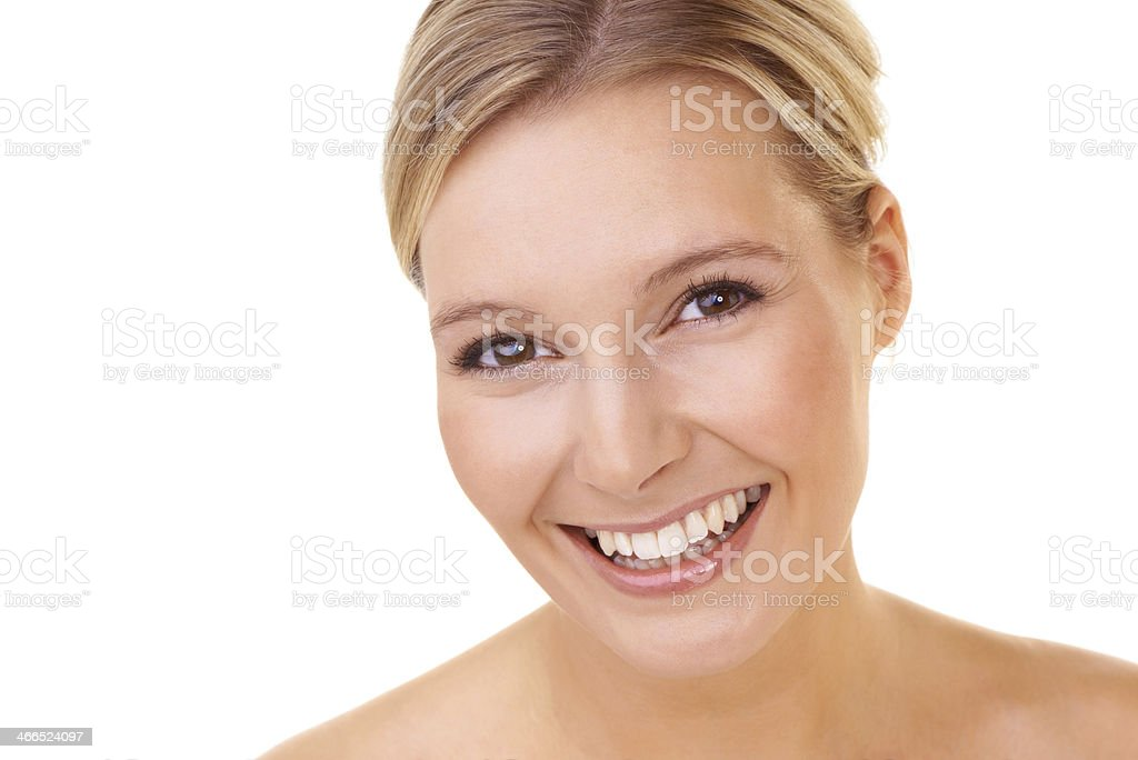 She's a woman you can trust royalty-free stock photo