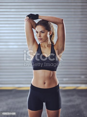 istock She's all about fitness 498584498