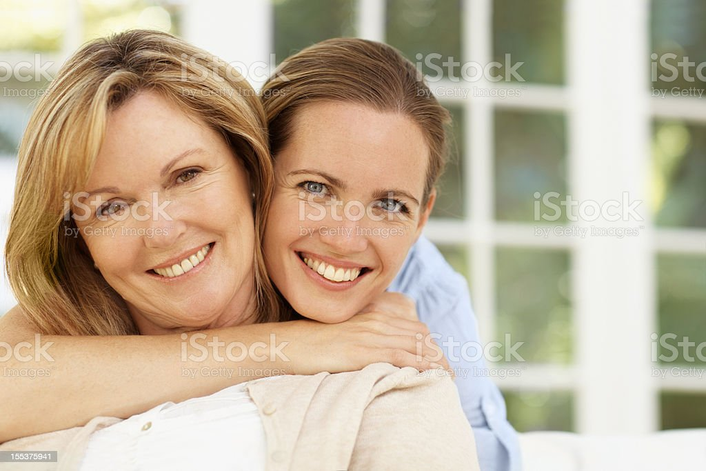 She's always been an amazing role model royalty-free stock photo