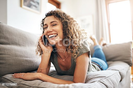 istock She's always connected to her friends 811276682
