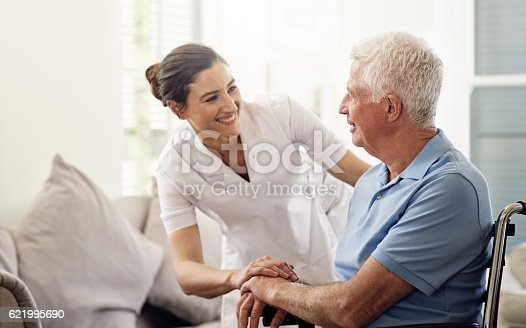 istock She's always there with a helping hand 621995690