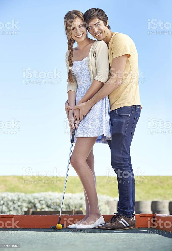 She's becoming a pro at this! royalty-free stock photo
