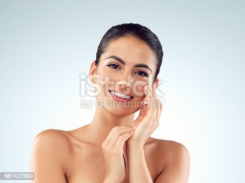 istock She's been gifted with a gorgeous glowy complexion 687422900