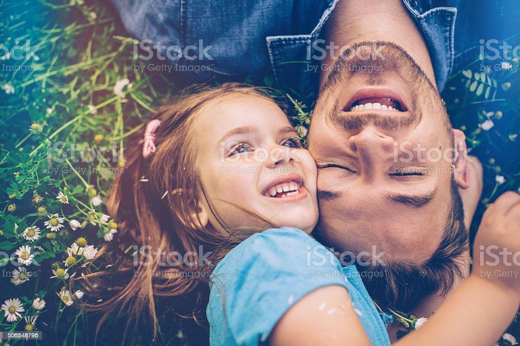 Sie daddy's little girl – Foto