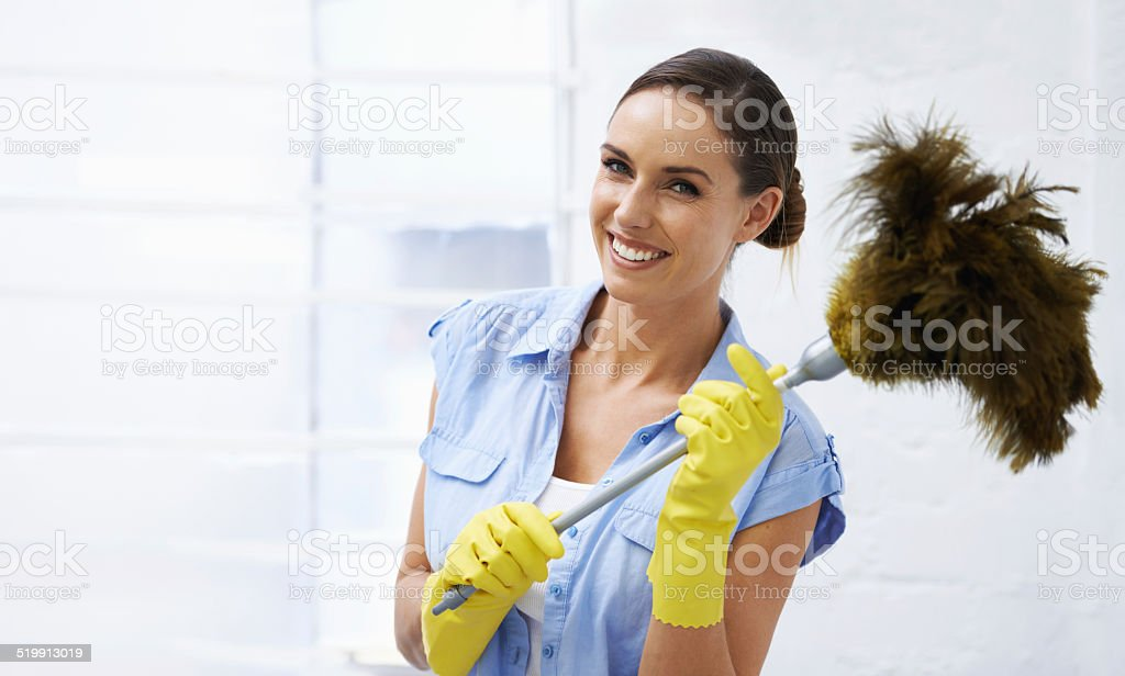 She's dust in time! stock photo