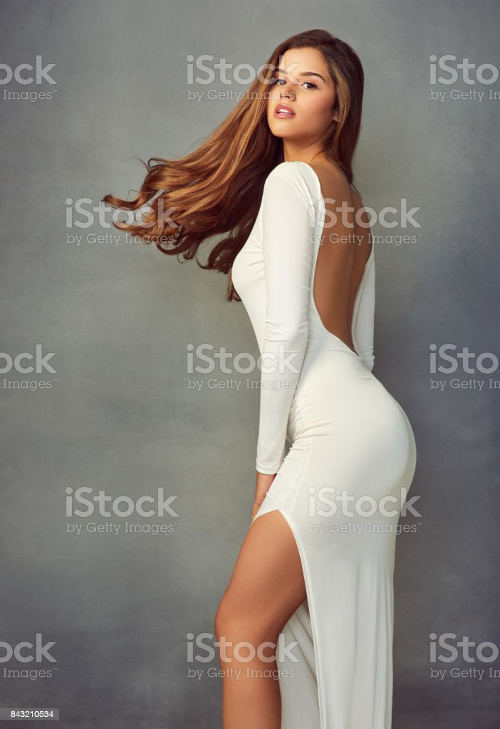 She's everything you hoped for stock photo