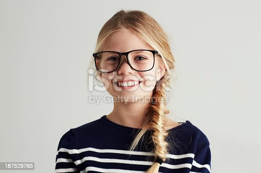 istock She's got a bright future ahead! 187529765