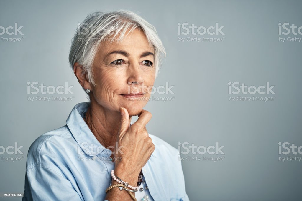 Shes Got A Lot On Her Mind To Ponder About Stock Photo More