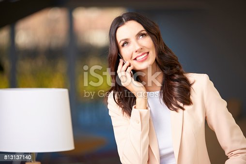 istock She's got business on the line 813137140