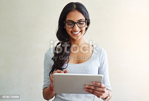 istock She's got everything she could need online 629076998