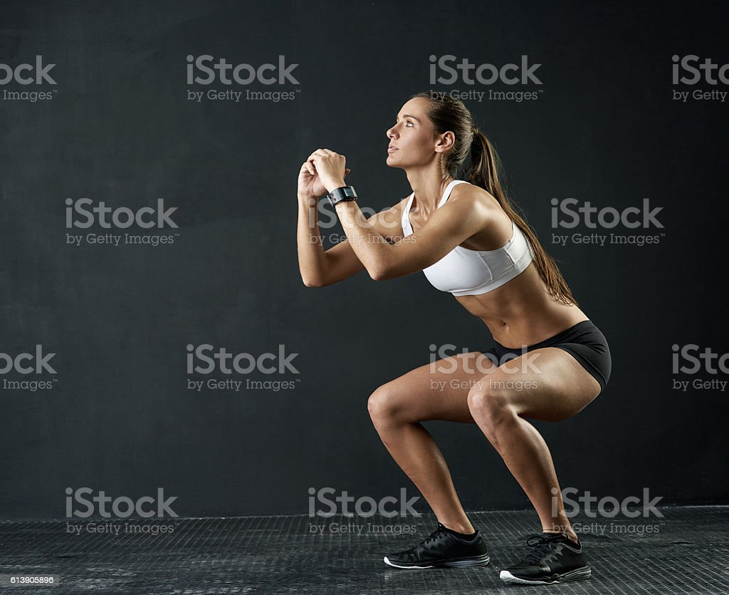 She's got her eyes on the prize stock photo