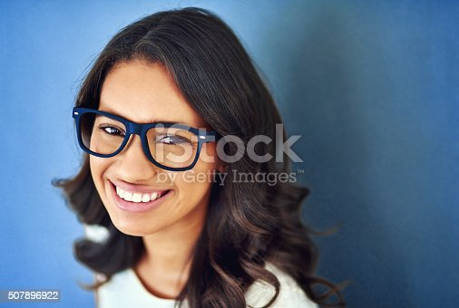 507896586istockphoto She's got her sights set on success 507896922