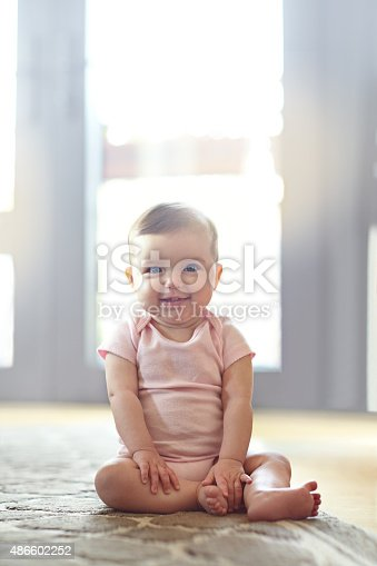 istock She's got some mischief in her eyes 486602252