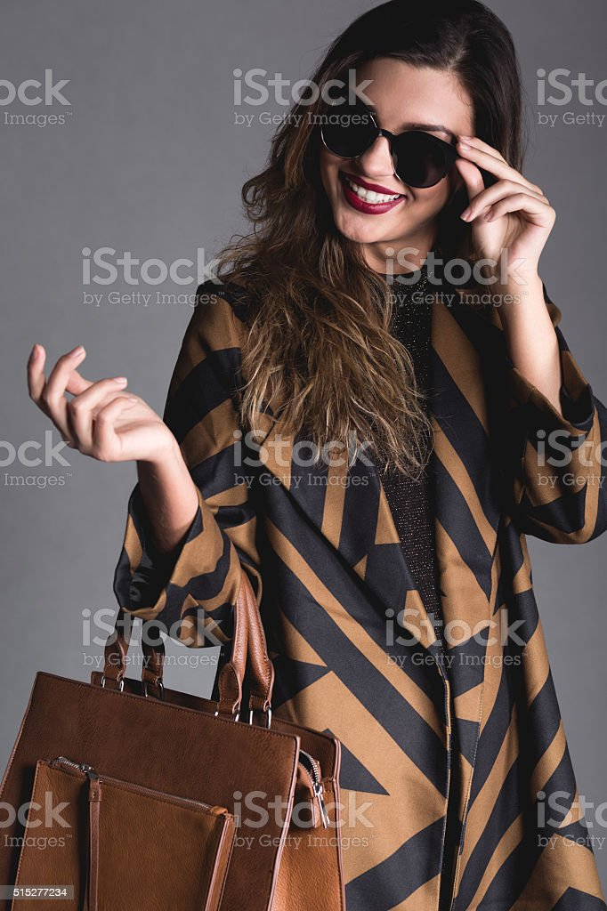 She's got the style stock photo