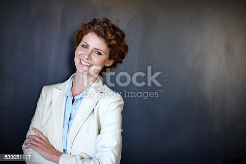1126471588 istock photo She's happy to help 533051117