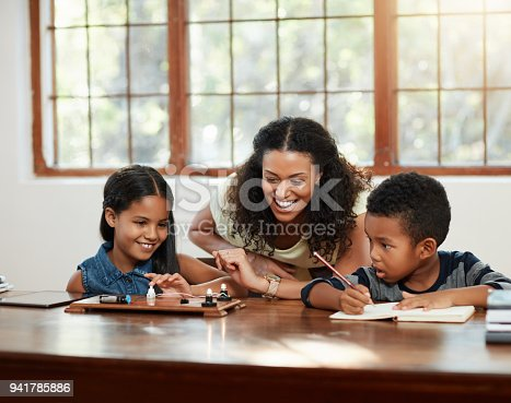 istock She's involved in her kids' lives 941785886