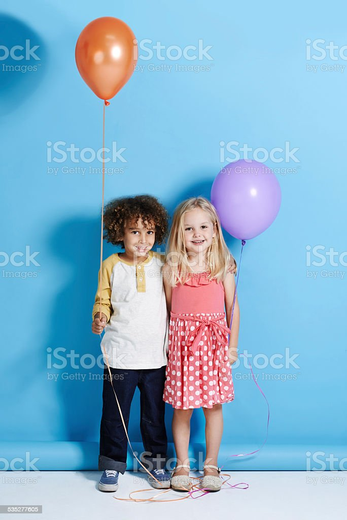 She's my childhood sweetheart stock photo