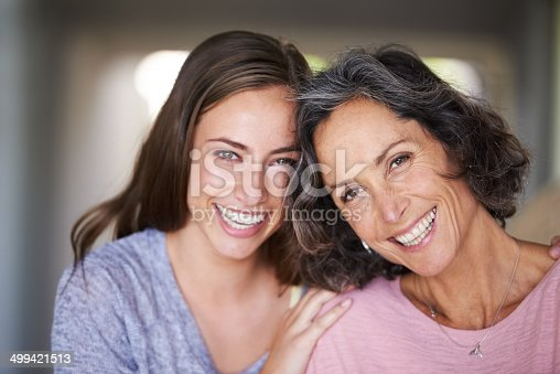 istock She's my mom, sister and best friend, all in one! 499421513