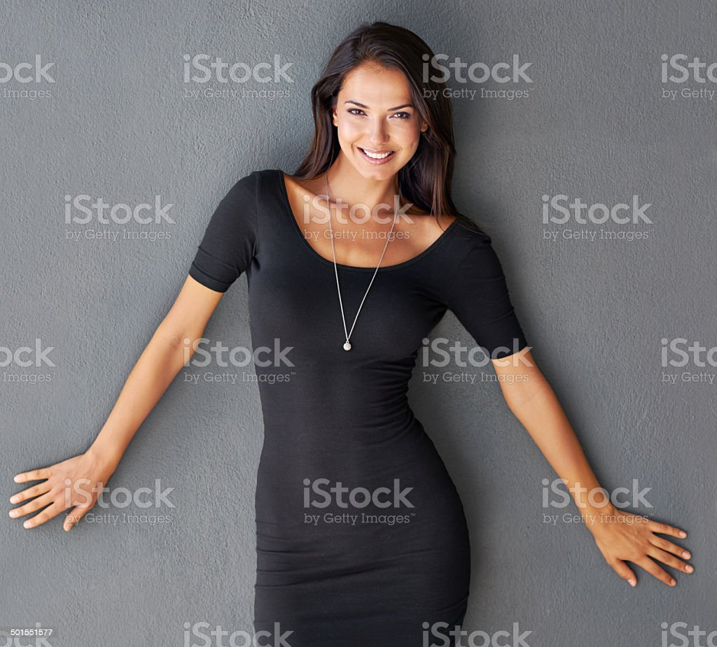 She's not the type to play gentle stock photo
