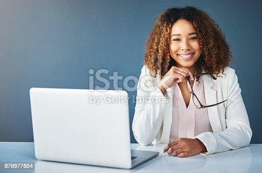 istock She's only happy when the job is done 876977854